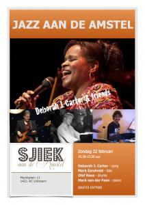 Poster Jazz aan de Amstel 22-02-2015