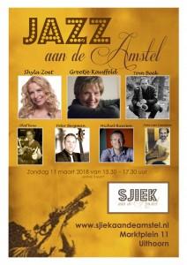 Jazz aan de Amstel 11-03-18